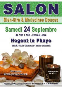 Affiche du salon bien-être de Nogent-le-Phaye