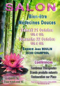 Affiche Salon Bien-être Champhol 2017
