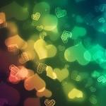 Multi coeurs colorés
