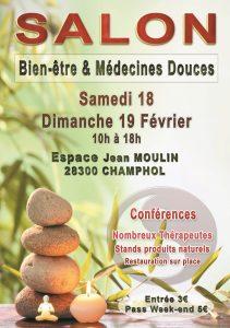 Flyer Salon Bien-être et Médecines Douces Champhol