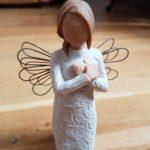 Ange qui déploie ses ailes