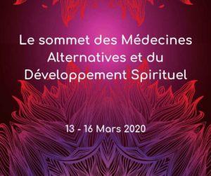 Affiche du Sommet Médecines Alternatives